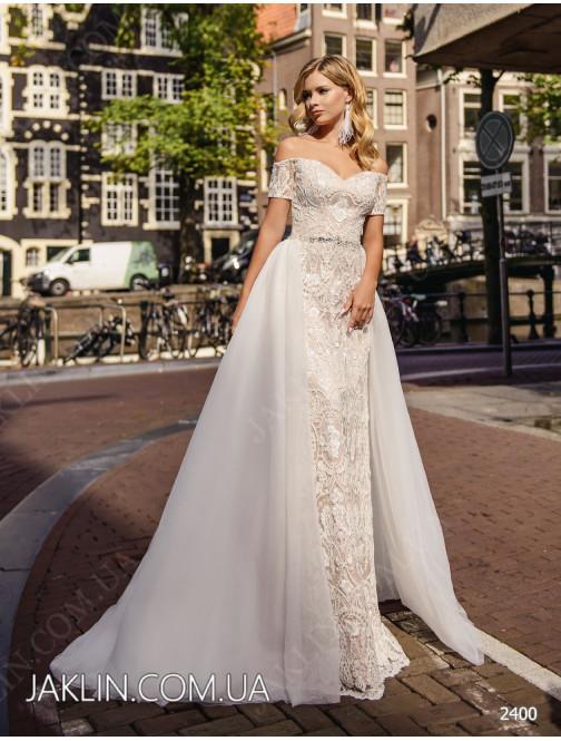Wedding dress 2400