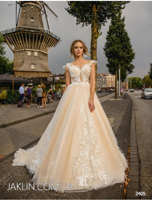 Wedding dress 2405