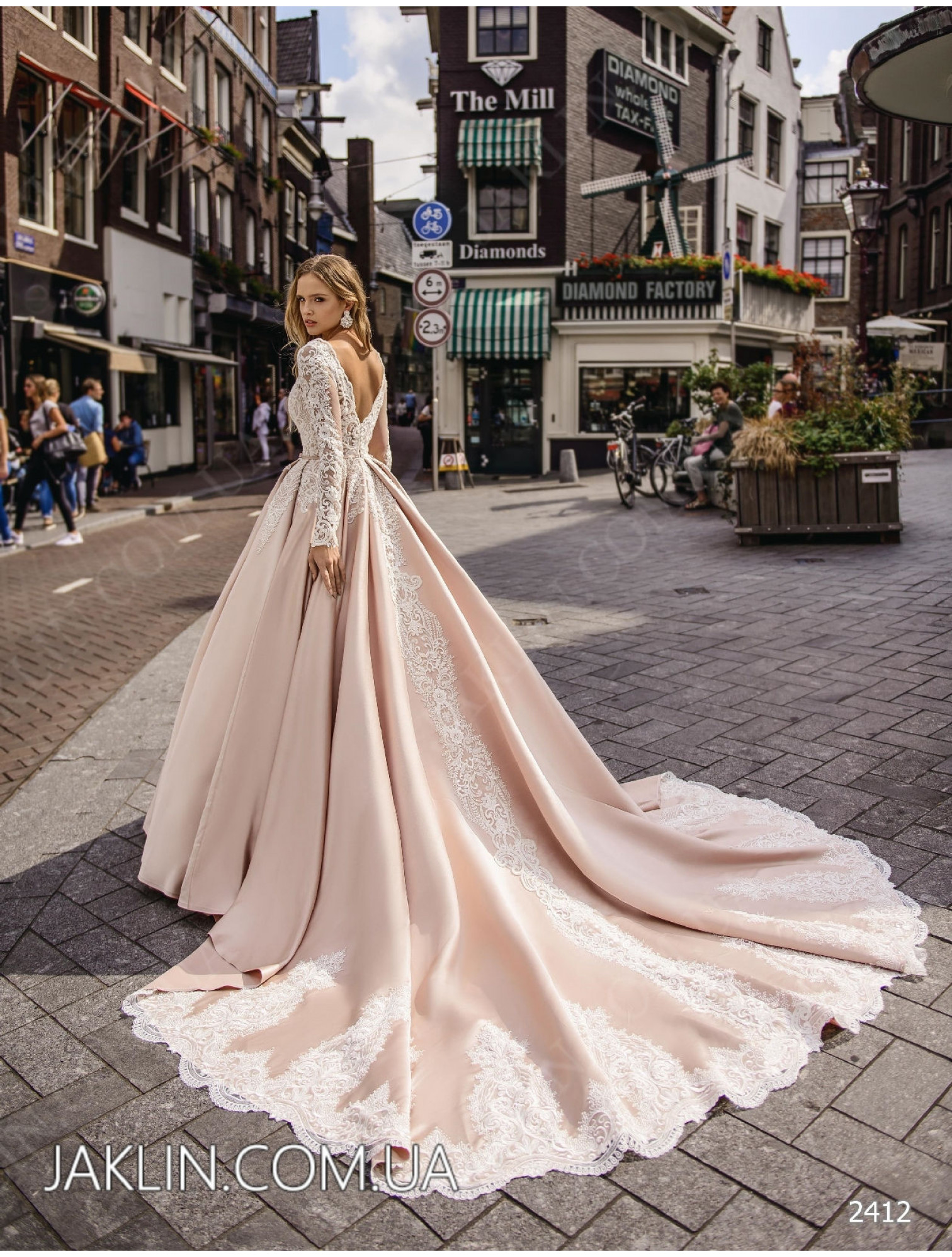Wedding dress 2412