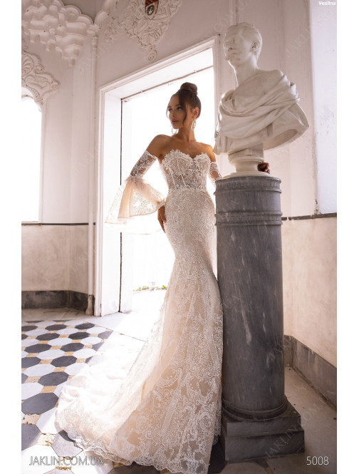 Wedding dress 5008