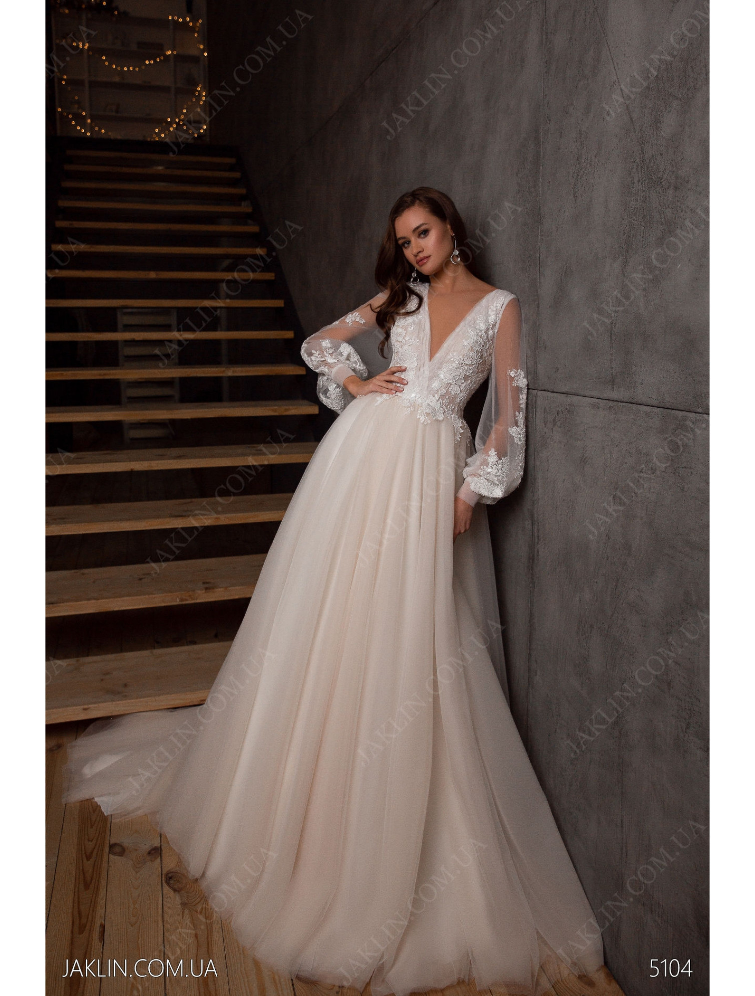 Wedding dress 5104