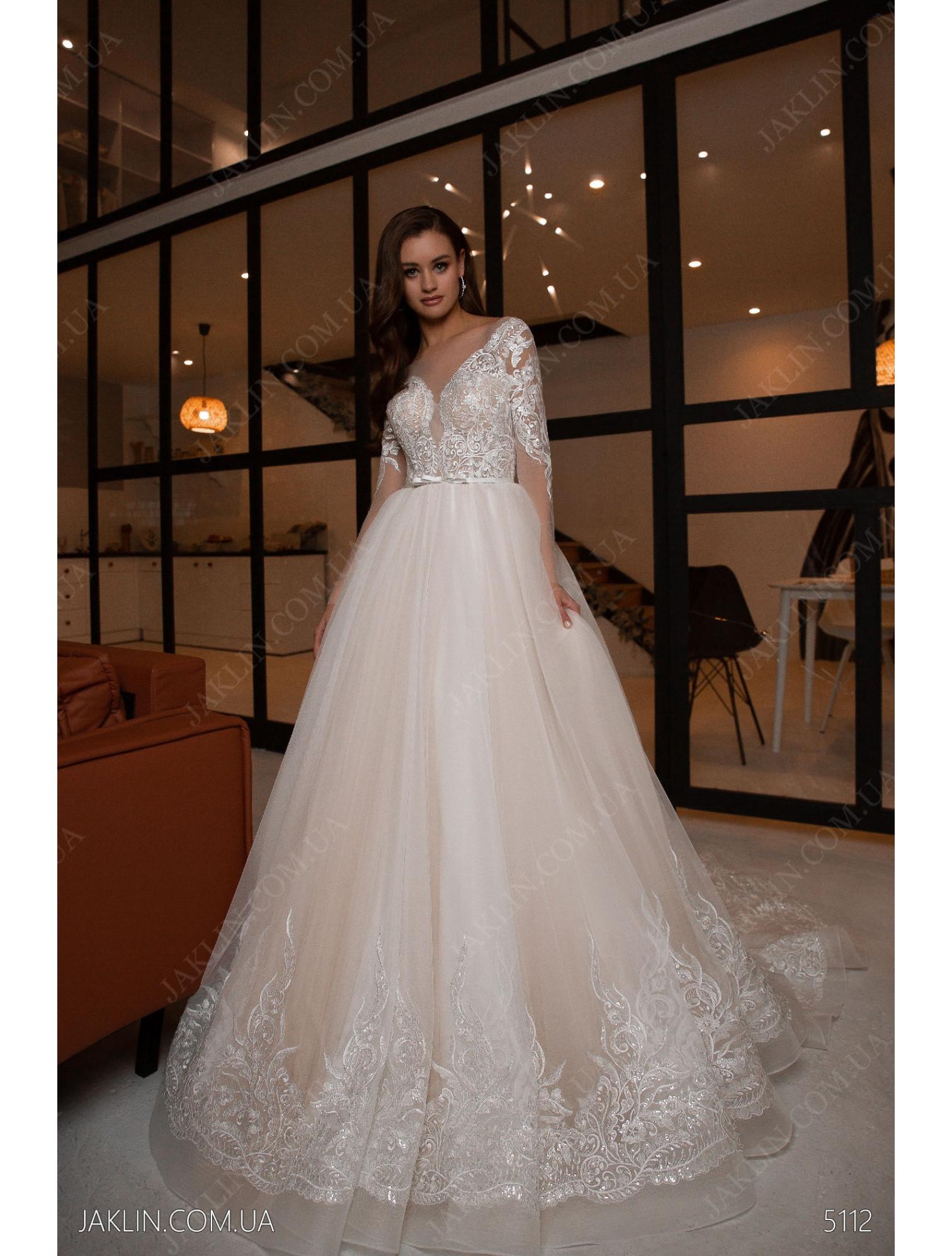 Весільна сукня 5112