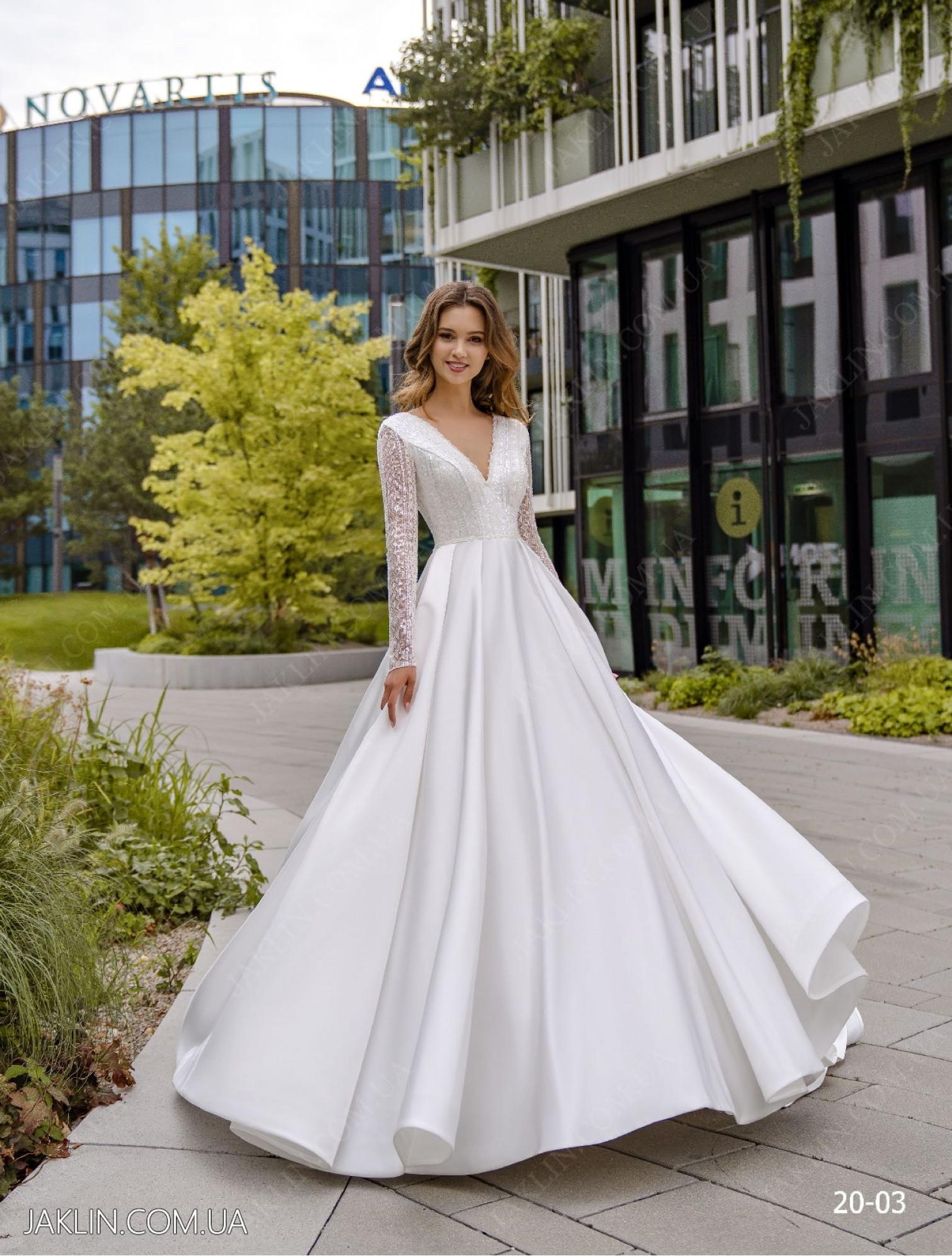 Весільна сукня 20-03