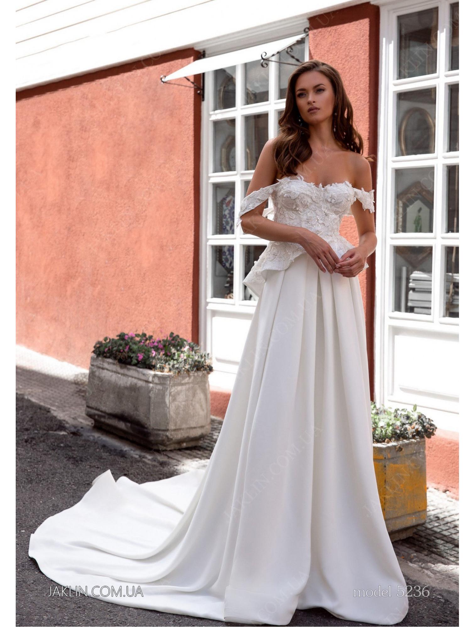 Wedding dress 5236