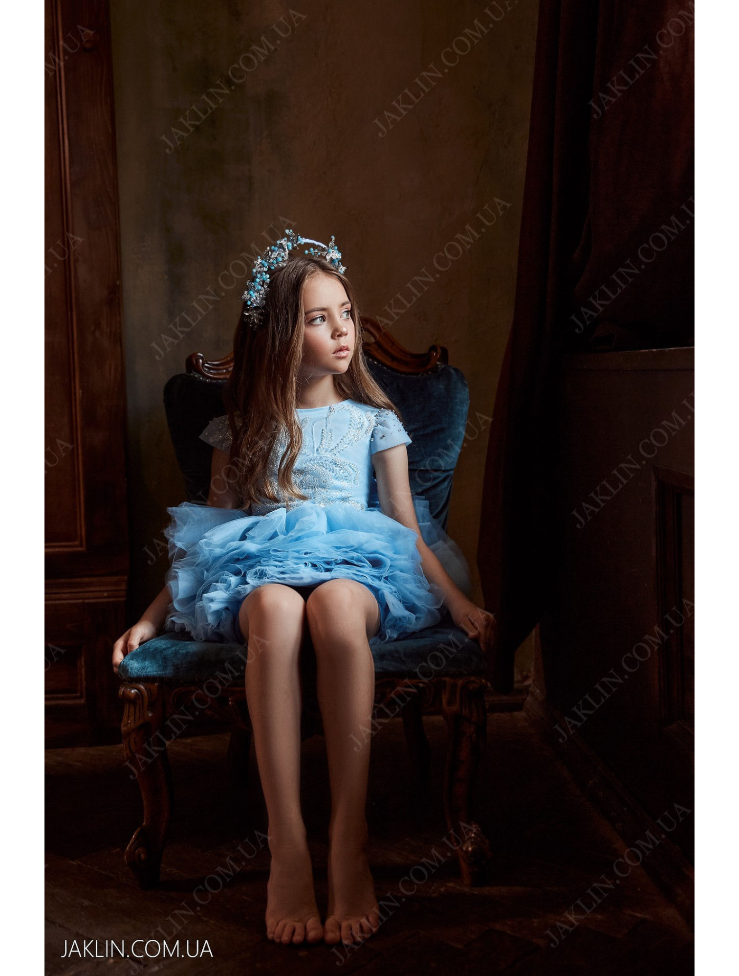 Детское платье 3118
