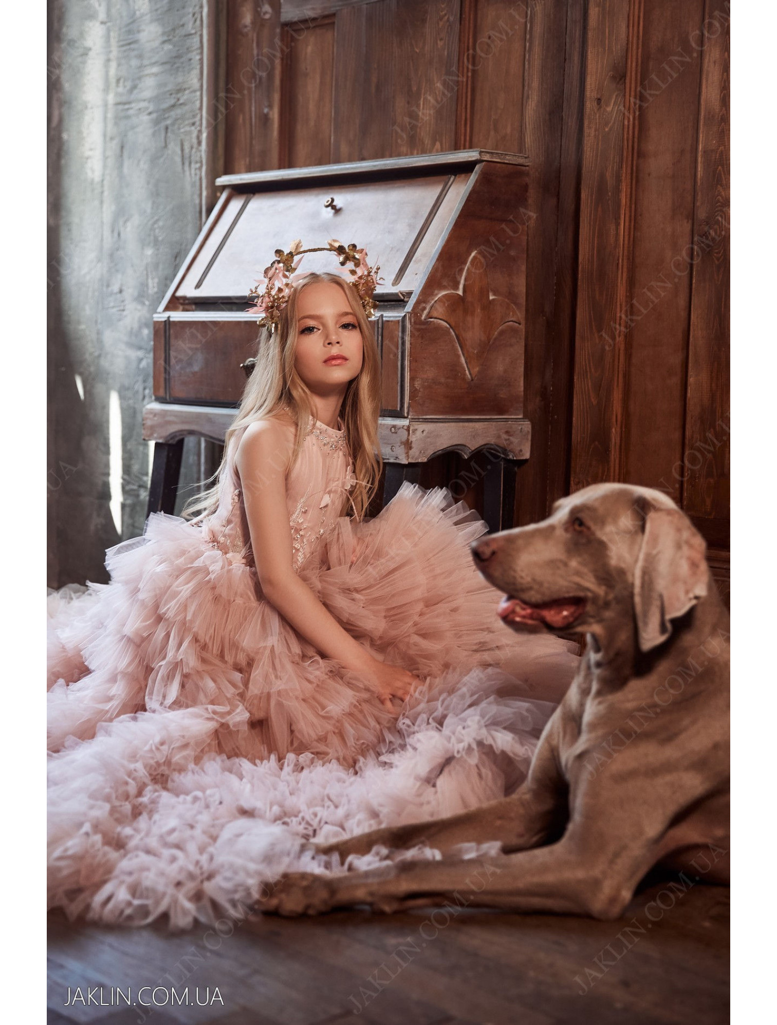 Детское платье 3124