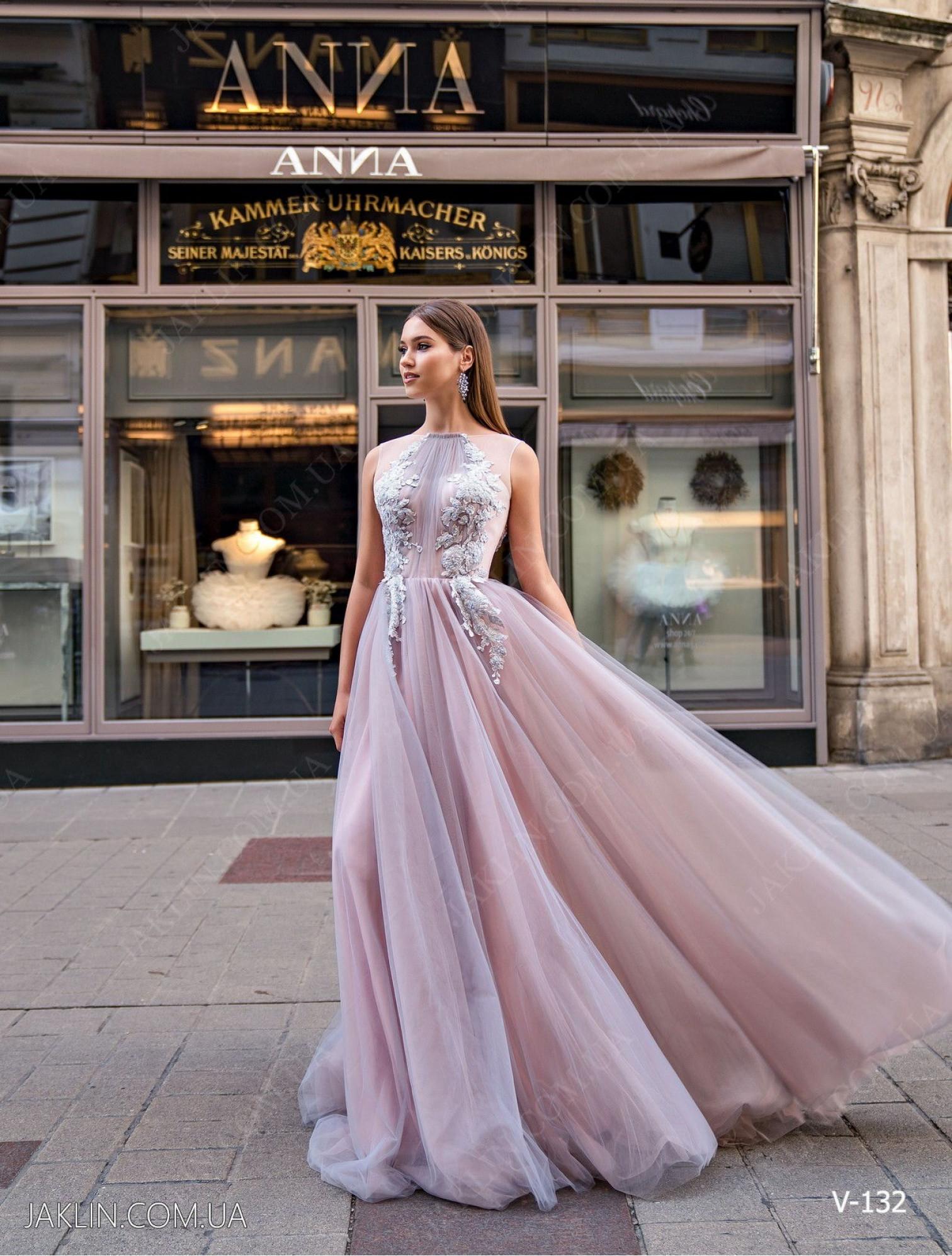 Evening dress V-132