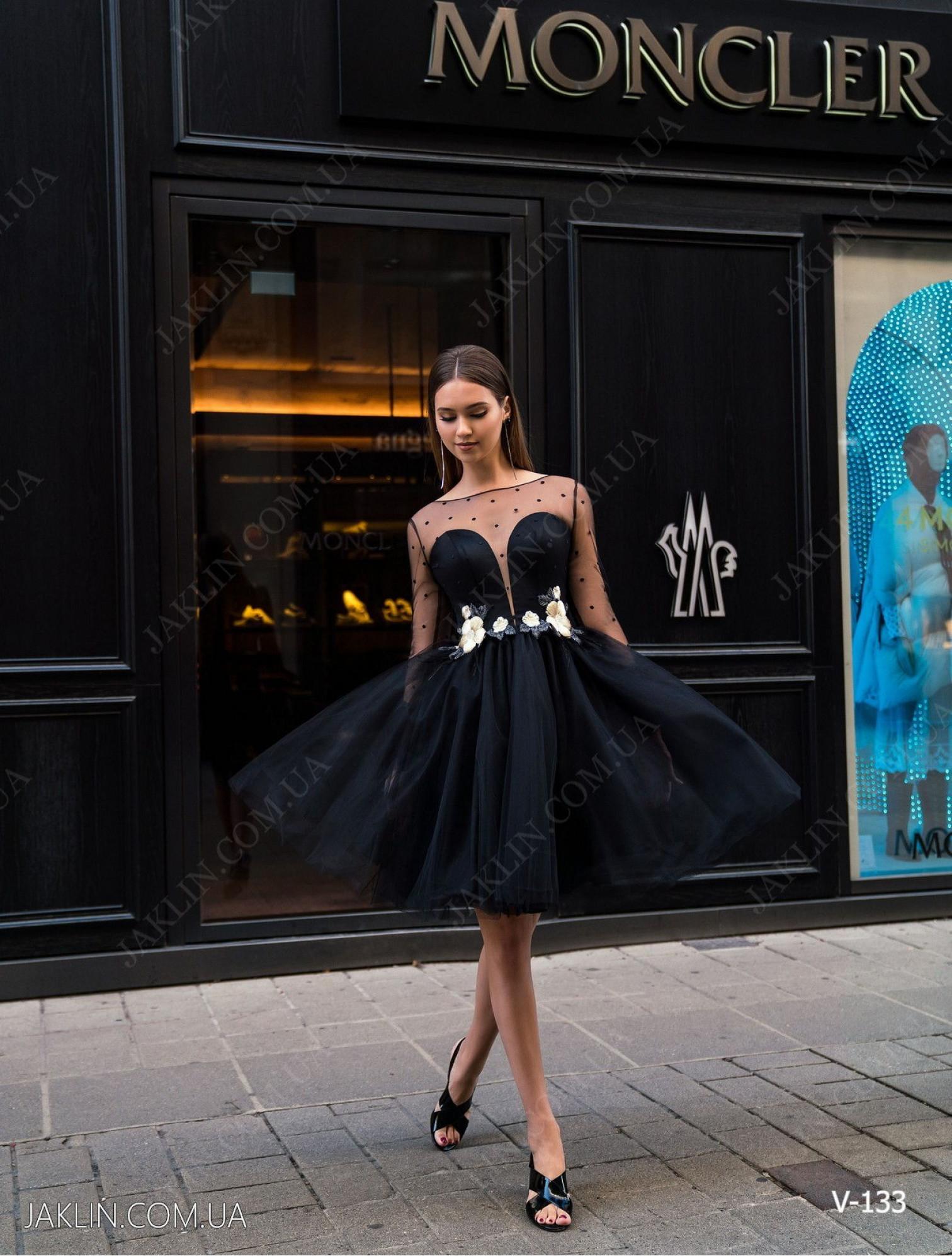 Вечернее платье V-133