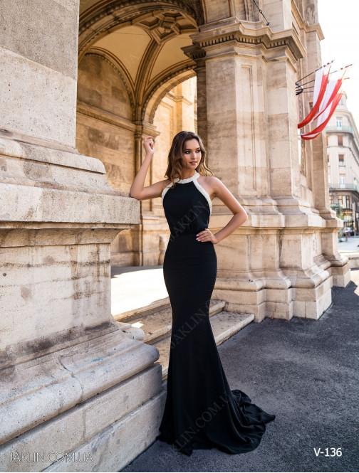 Вечірня сукня V-136