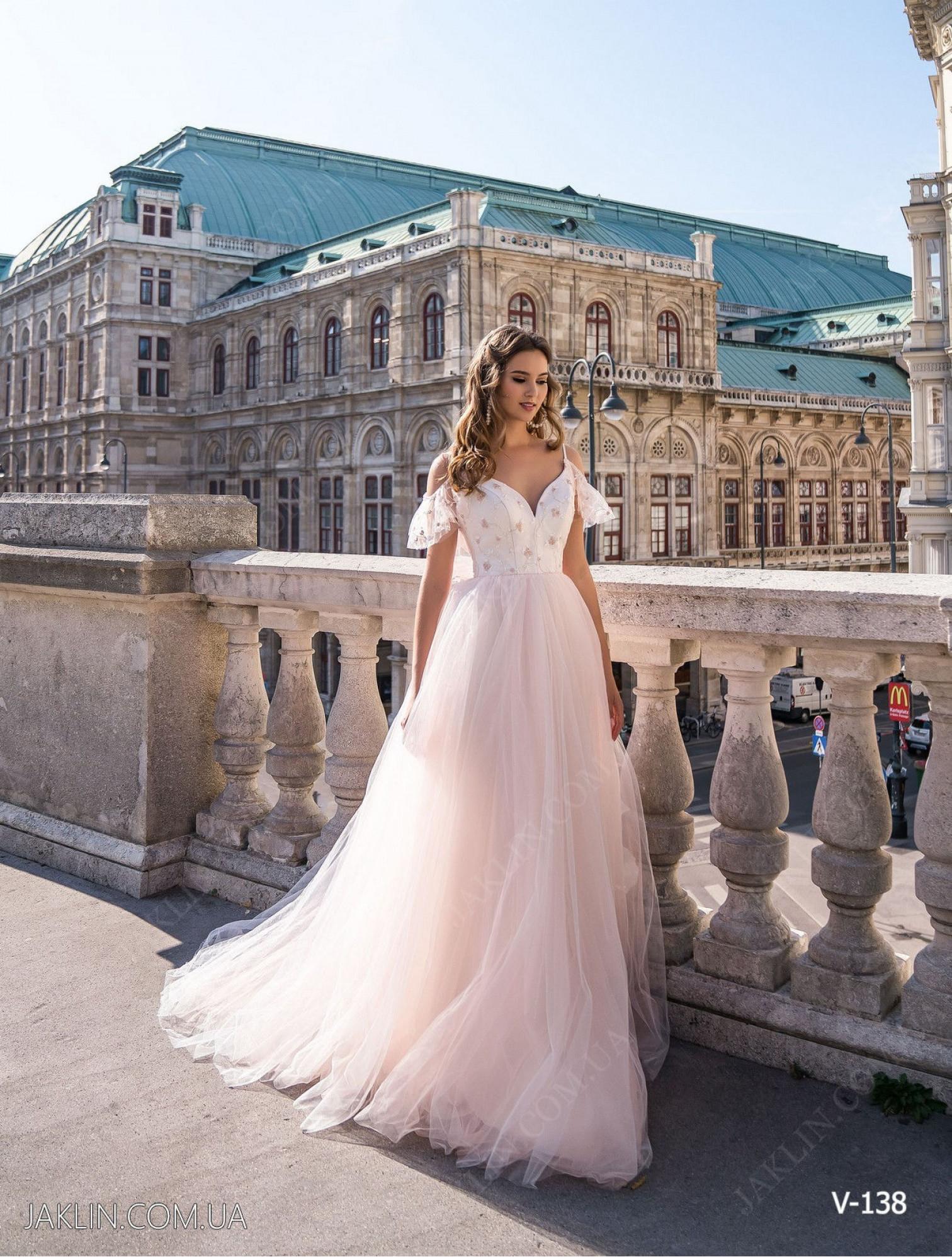 Evening dress V-138