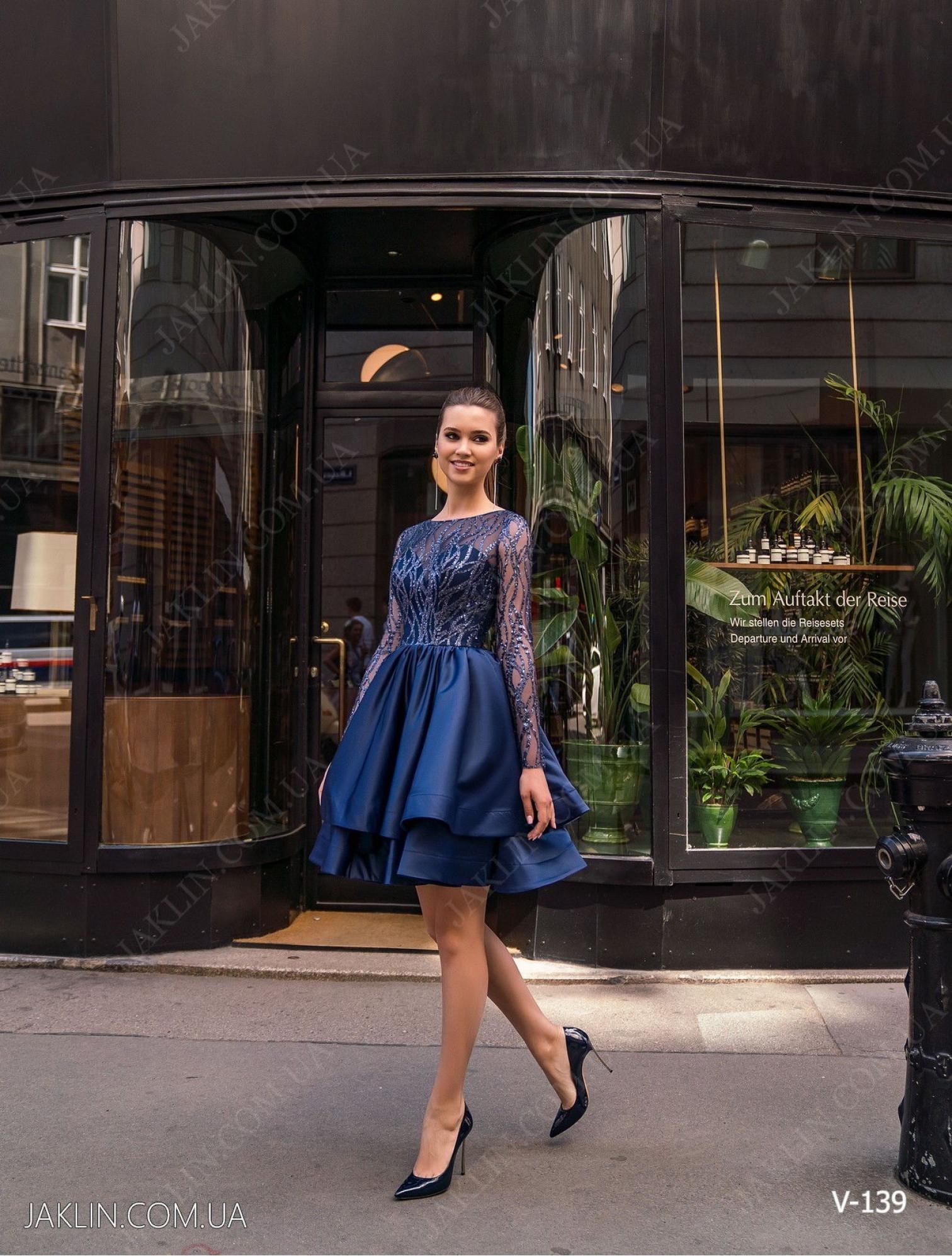 Вечернее платье V-139