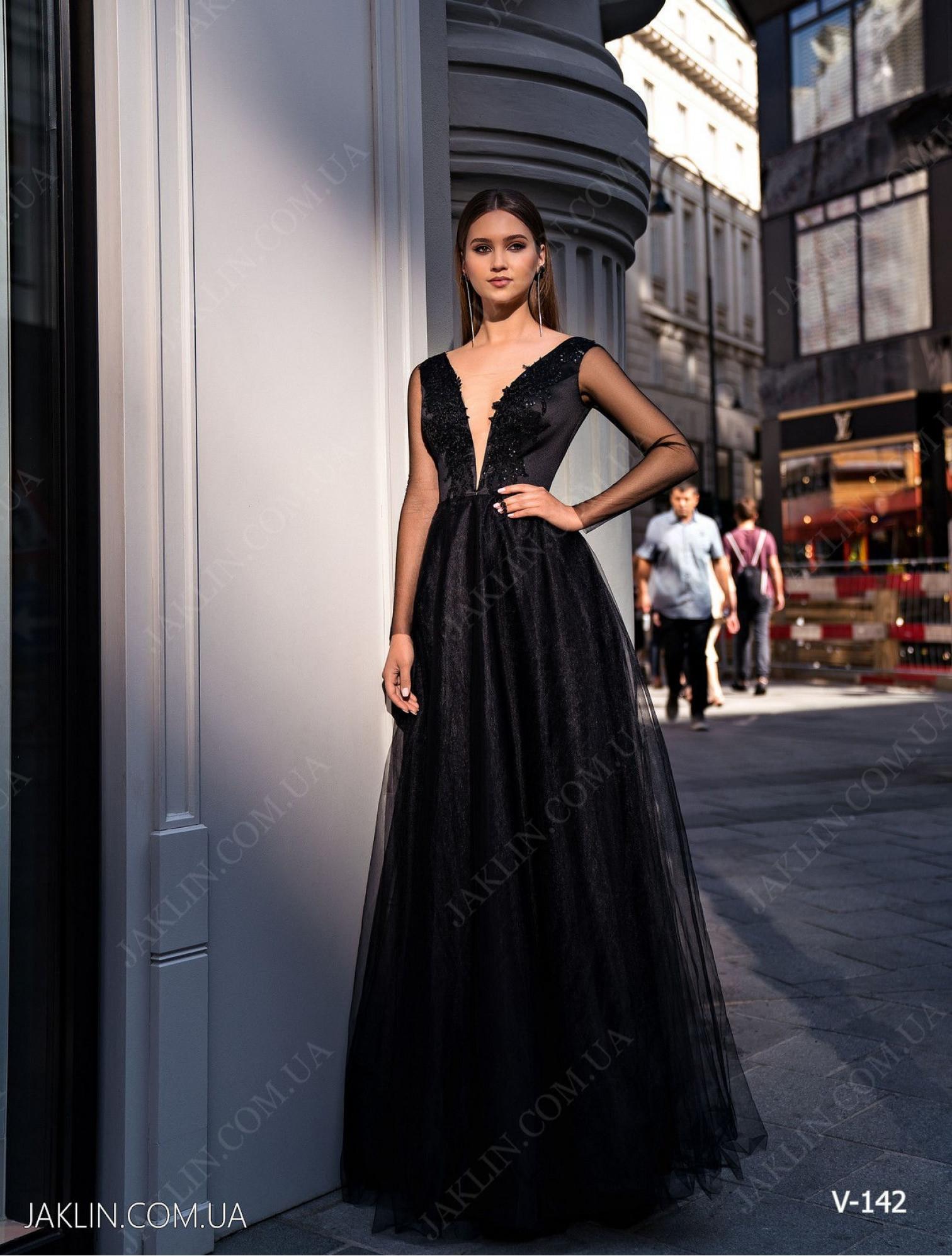 Вечернее платье V-142