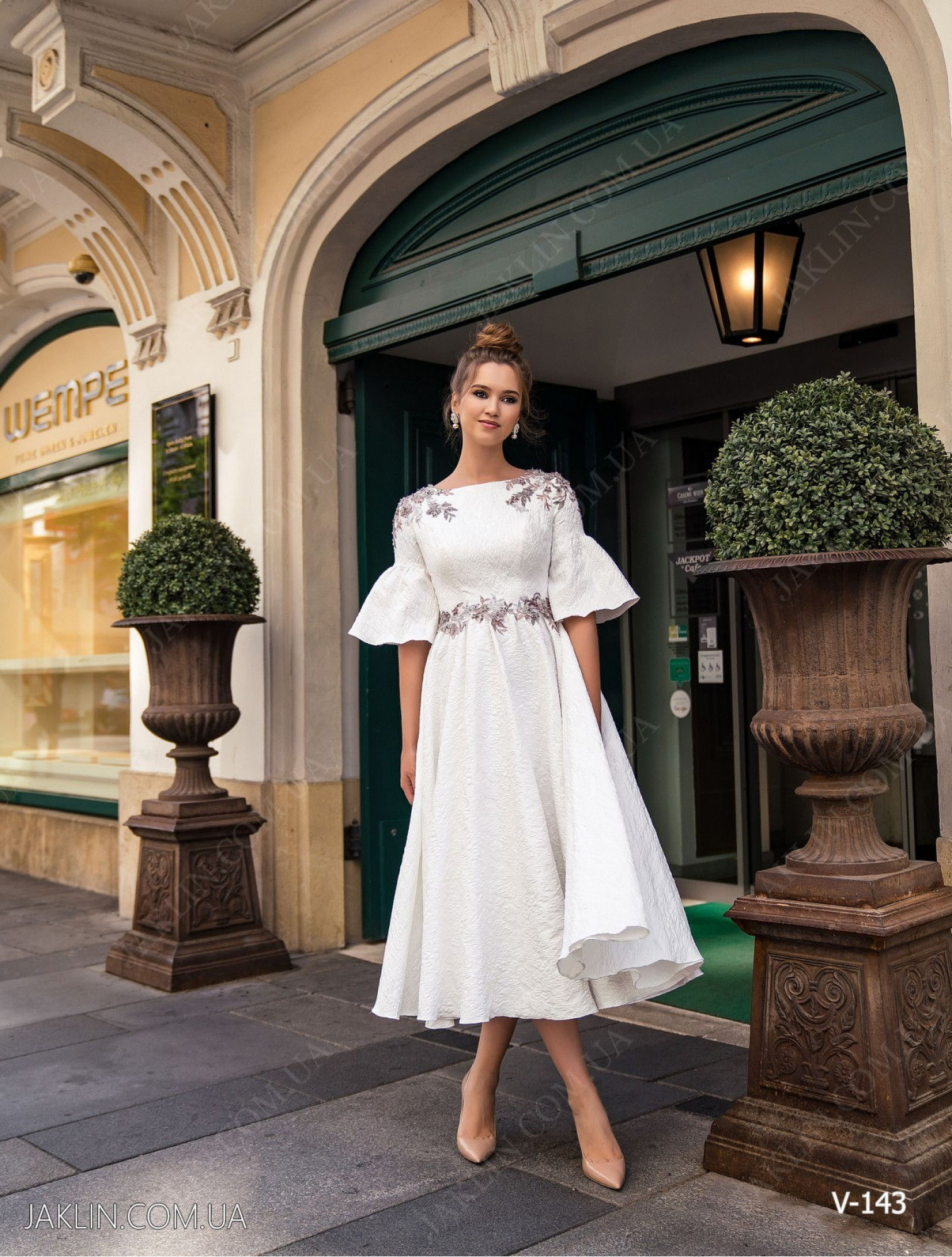 Вечернее платье V-143