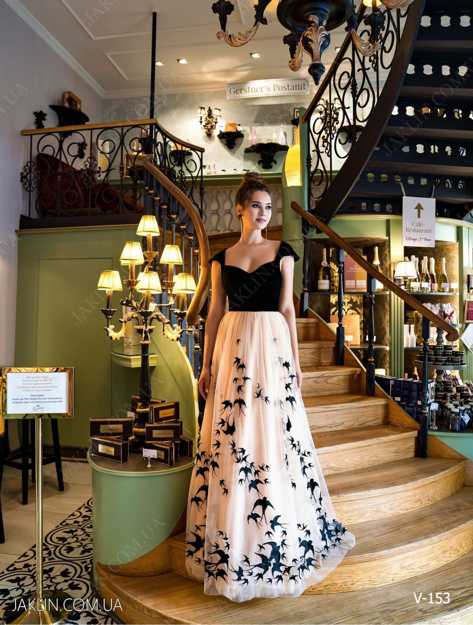 Вечернее платье V-153
