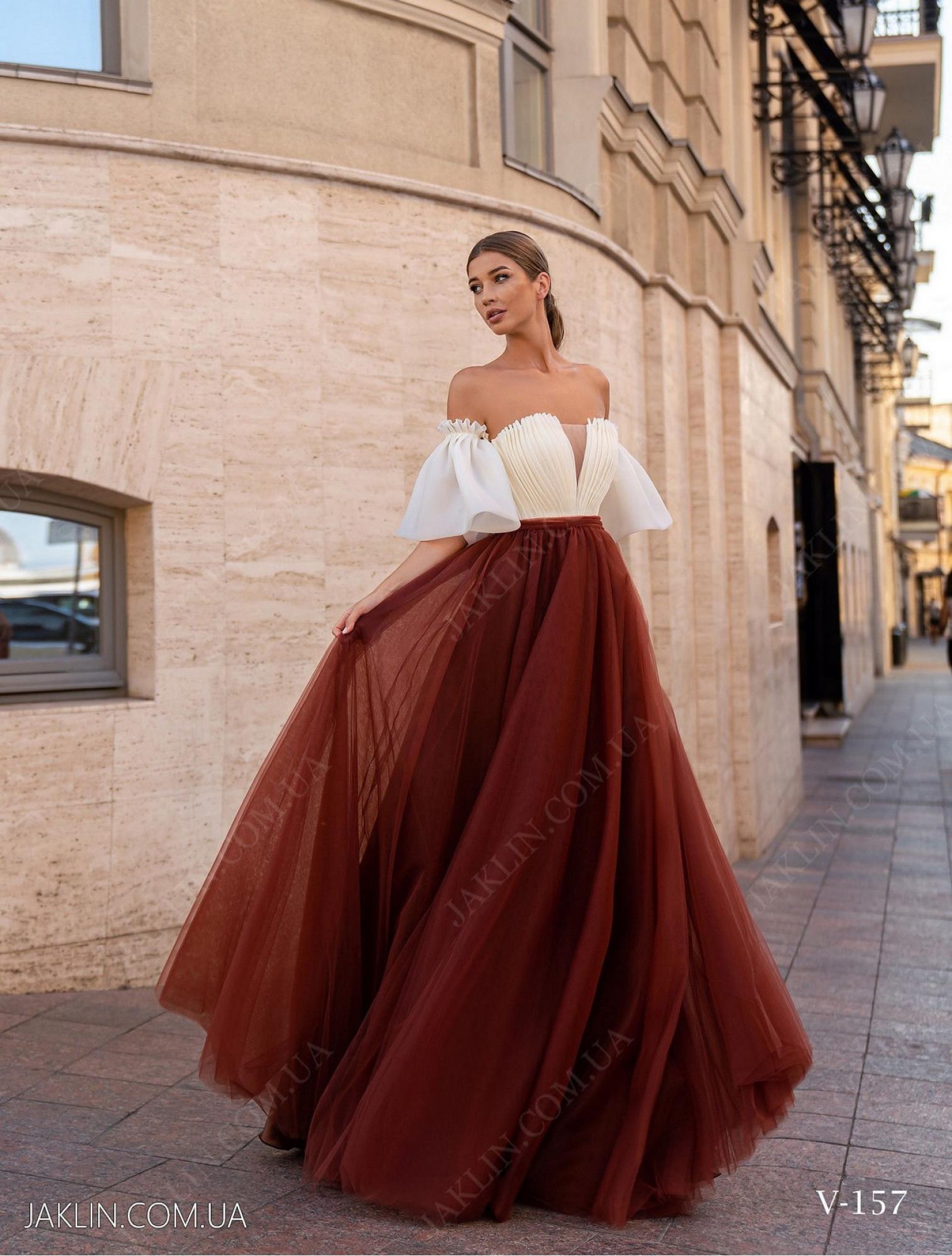 Вечернее платье V-157