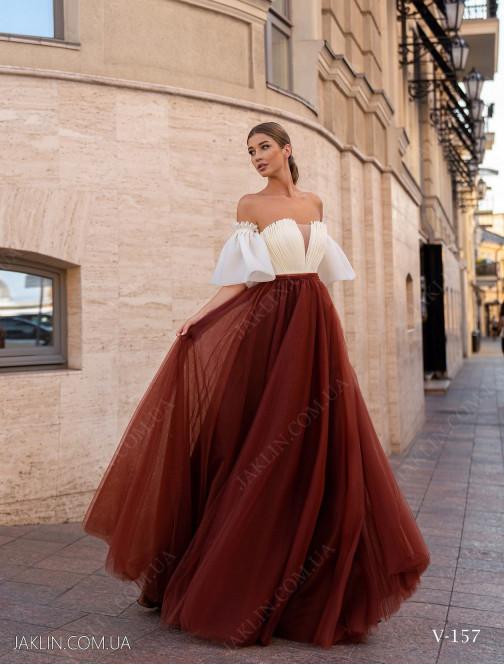 Вечірня сукня V-157