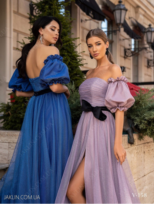 Вечернее платье V-158