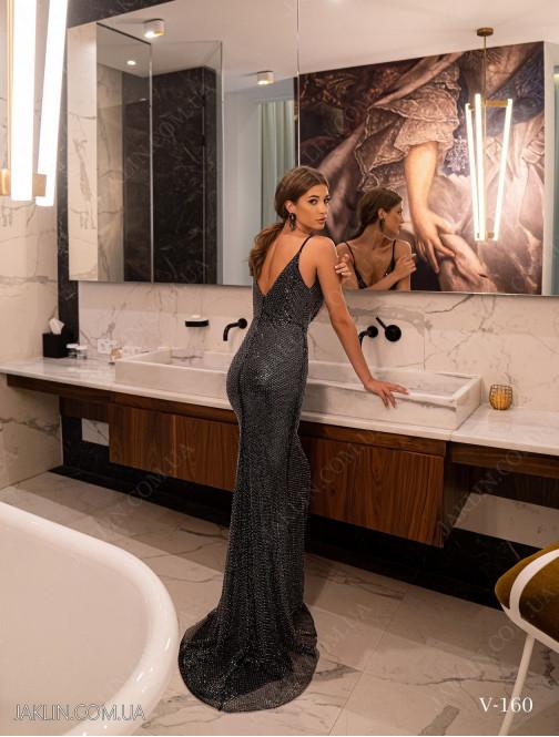 Вечірня сукня V-160