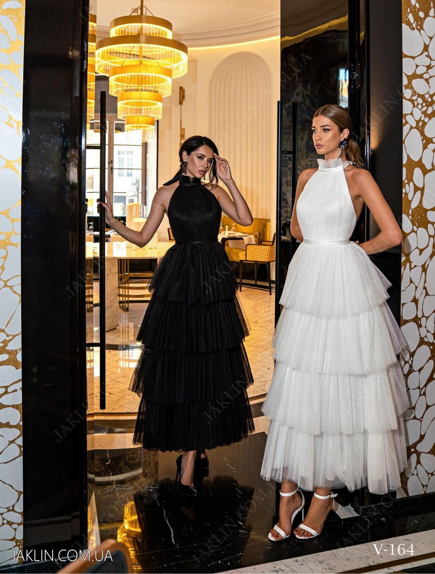 Вечернее платье V-164