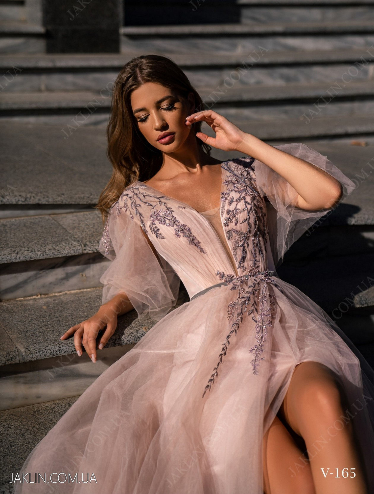 Evening dress V-165