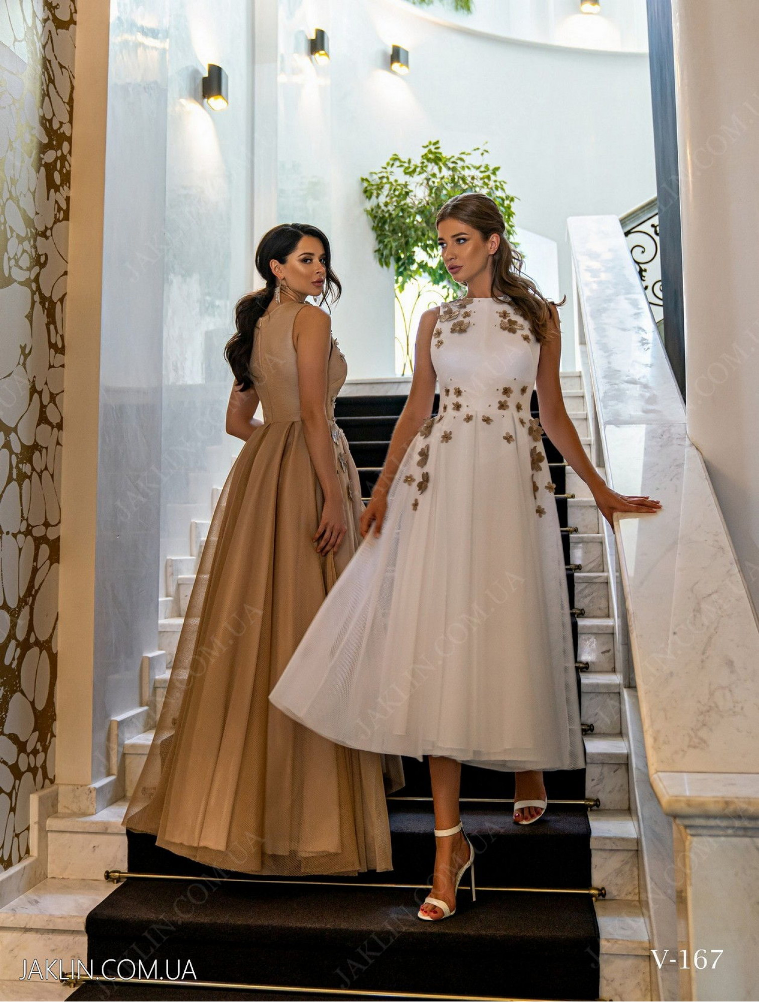 Вечірня сукня V-167