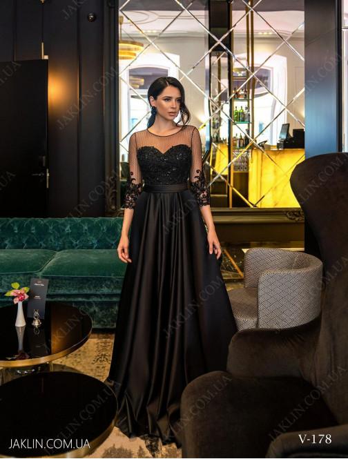 Вечернее платье V-178